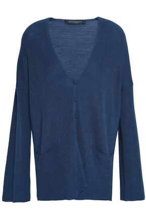 PIAZZA SEMPIONE Wool and silk-blend cardigan