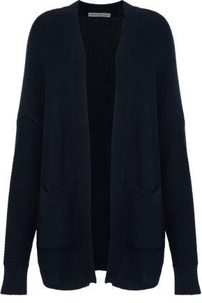 COTTON by AUTUMN CASHMERE Basketweave cotton cardigan