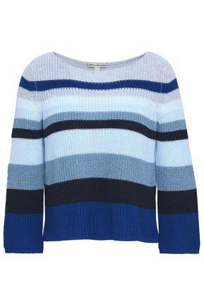 AUTUMN CASHMERE Striped cotton sweater
