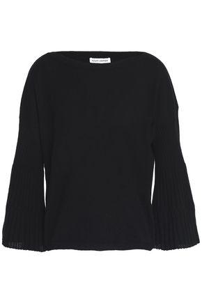 AUTUMN CASHMERE Pleated cashmere sweater