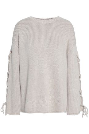 SEE BY CHLOÉ Lace-up knitted sweater