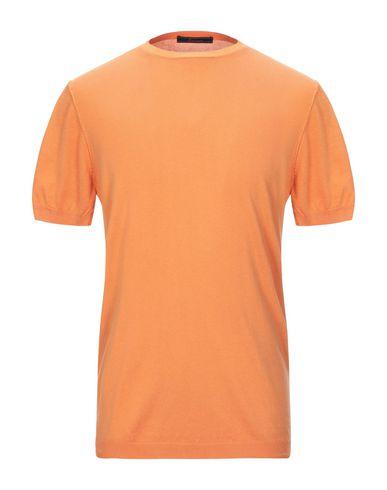 Фото - Мужской свитер INDIVIDUAL оранжевого цвета