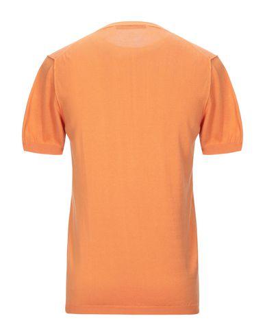 Фото 2 - Мужской свитер INDIVIDUAL оранжевого цвета