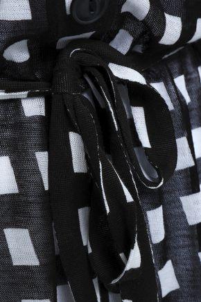RAG & BONE Checked cotton cardigan
