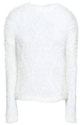 JUST CAVALLI Open-knit sweater