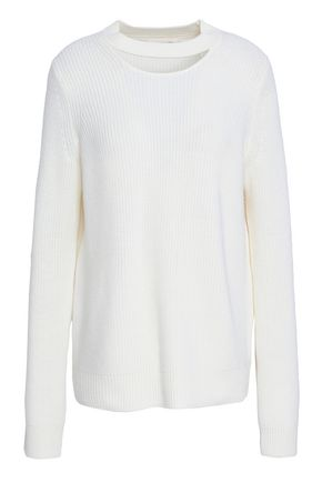 RAG & BONE Tori cutout merino wool sweater