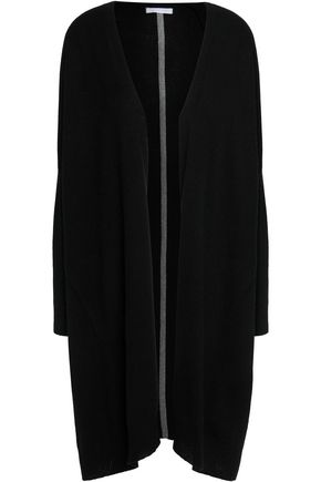 DUFFY Intarsia cashmere cardigan