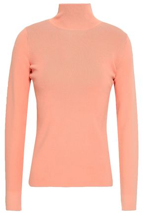DIANE VON FURSTENBERG Stretch-knit turtleneck sweater