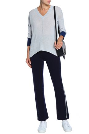 DUFFY Mélange cashmere sweater