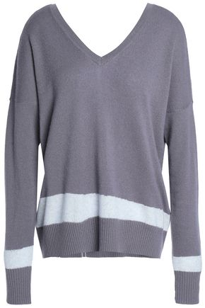 DUFFY Striped cashmere sweater
