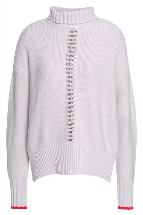 DUFFY Wool and cashmere-blend turtleneck sweater