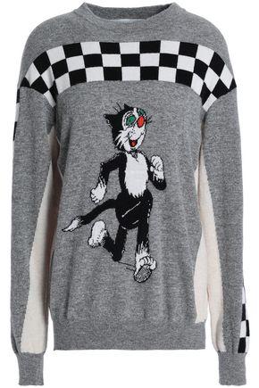 STELLA McCARTNEY Intarsia merino wool sweater