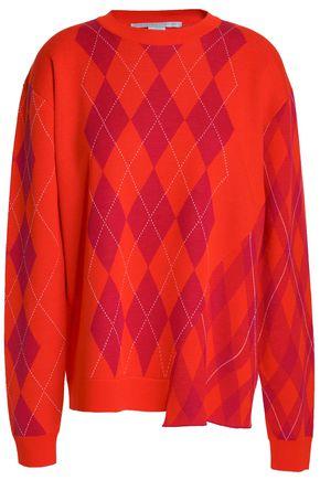 STELLA McCARTNEY Checked wool sweater
