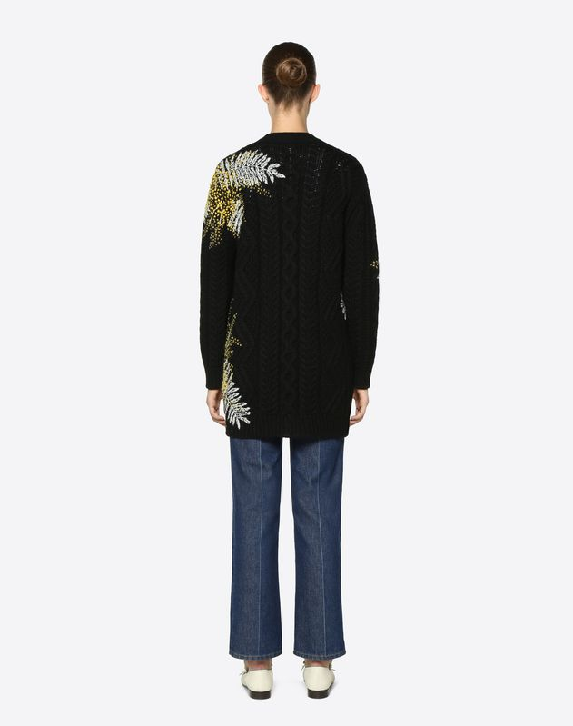 Embroidered Mimosa Wool Jumper