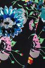 CHRISTOPHER KANE Crystal-embellished floral-print appliquéd wool cardigan