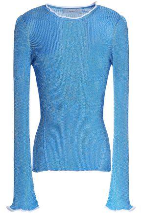 PRINGLE OF SCOTLAND Ribbed-knit top