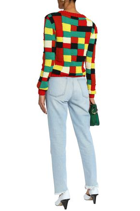 J.W.ANDERSON Color-block wool sweater