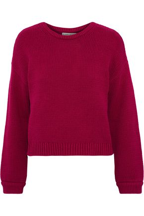 ALICE + OLIVIA Leena cotton-blend sweater