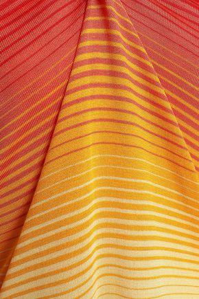 SONIA RYKIEL Dégradé striped silk top
