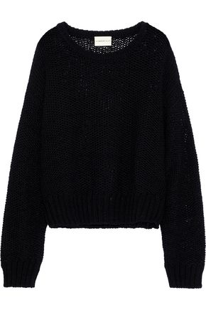 SIMON MILLER Rhea open-knit wool sweater