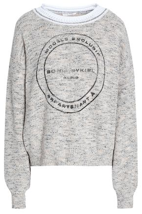 SONIA RYKIEL Printed knitted sweater