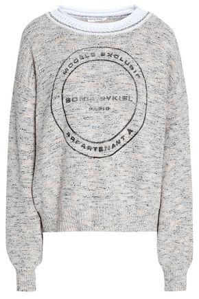 SONIA RYKIEL Printed knitted sweater