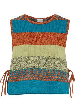 SIMON MILLER Vevo jacquard-knit sweater