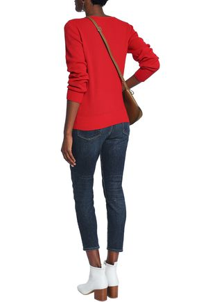 VANESSA SEWARD Stretch-knit cotton sweater