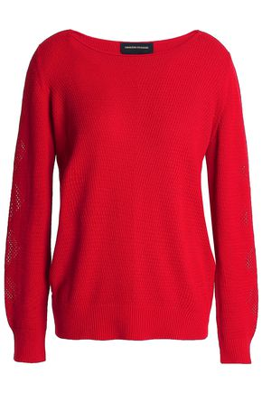 VANESSA SEWARD Stretch-knit cotton sweater