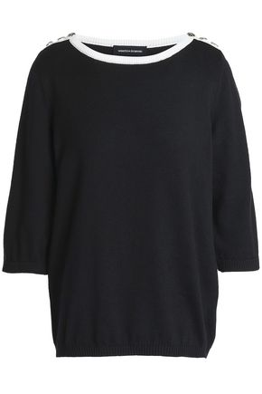 VANESSA SEWARD Button-detailed cotton top