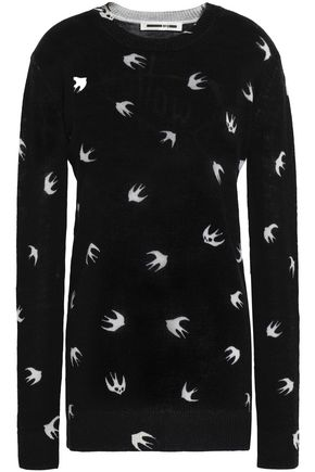 McQ Alexander McQueen Intarsia wool sweater
