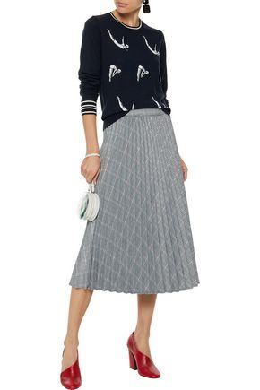 MARKUS LUPFER Grace intarsia merino wool sweater
