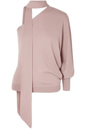 RALPH & RUSSO One-shoulder cashmere sweater