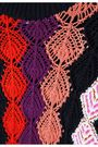 PETER PILOTTO Jacquard cotton-blend turtleneck sweater