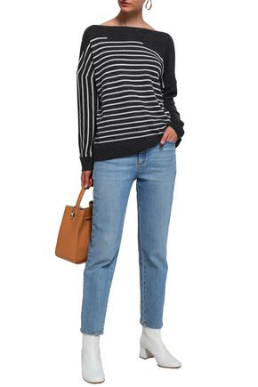 CHARLI Corley striped cashmere sweater