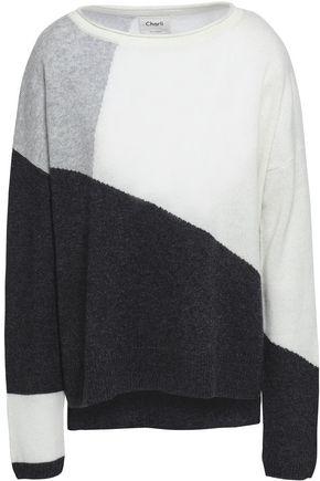 CHARLI Charlo color-block cashmere sweater