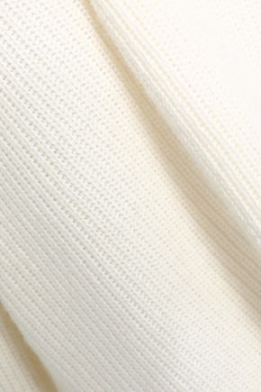 CHARLI Sola ribbed-knit sweater