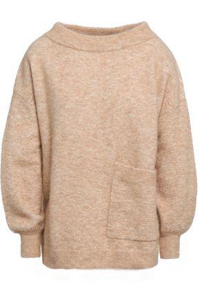 CHARLI Bela mélange alpaca-blend sweater