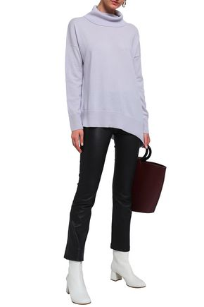 CHARLI Nicole wool and cashmere-blend turtleneck sweater