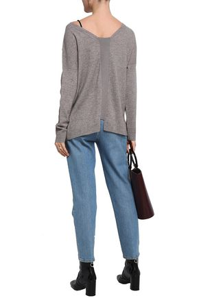 CHARLI Nohl wool and cashmere-blend sweater