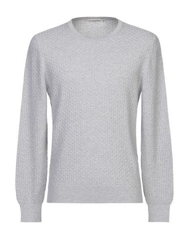 Купить Мужской свитер LA FILERIA серого цвета