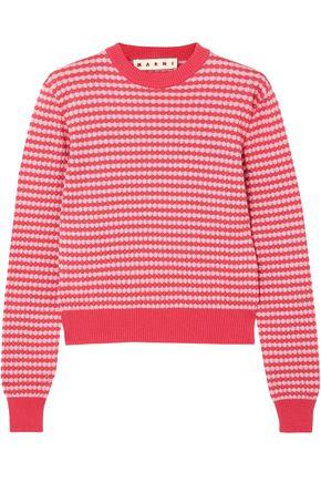 MARNI Crocheted cotton sweater