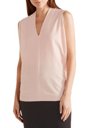 NARCISO RODRIGUEZ Wool and cashmere-blend gilet