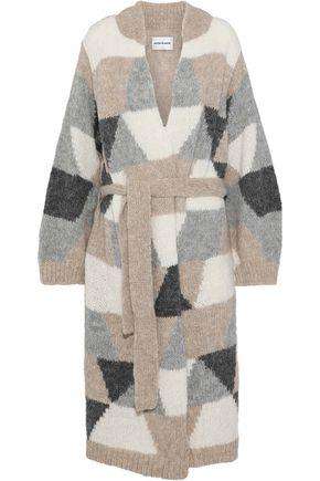 ANTIK BATIK Color alpaca-blend cardigan