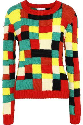 J.W.ANDERSON Intarsia merino wool sweater