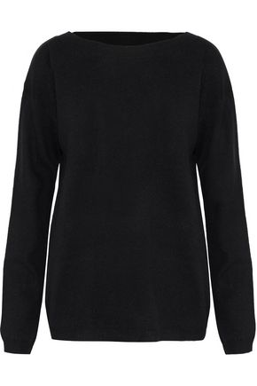 A.L.C. Twist-back cutout wool and cashmere-blend sweater