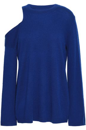 A.L.C. Hamilton cold-shoulder wool and cashmere-blend sweater