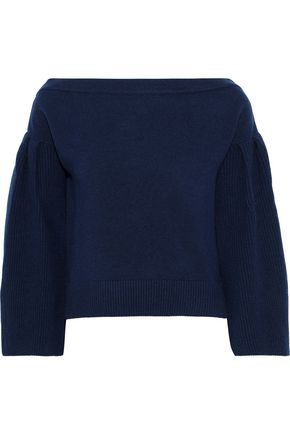 Ribbed Cashmere Sweater by Carolina Herrera