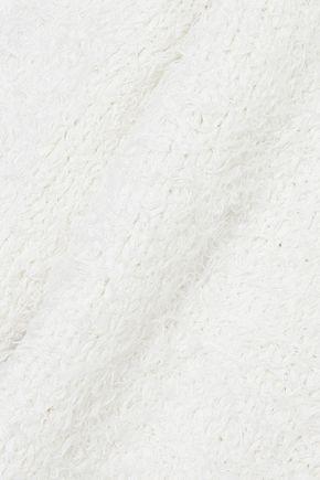 MANSUR GAVRIEL Bouclé-knit silk sweater