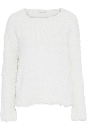 MANSUR GAVRIEL Bouclé-knit silk sweater